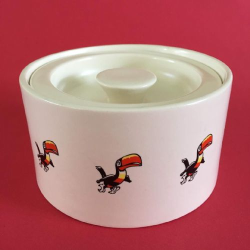 Carlton Ware - Guinness Toucan - Lidded Pot